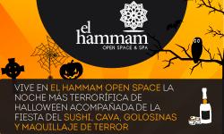 Vive Halloween en El Hamman Open Space & Spa