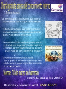 Chala gratuita acerca del conocimiento interno con Ramiro Acosta