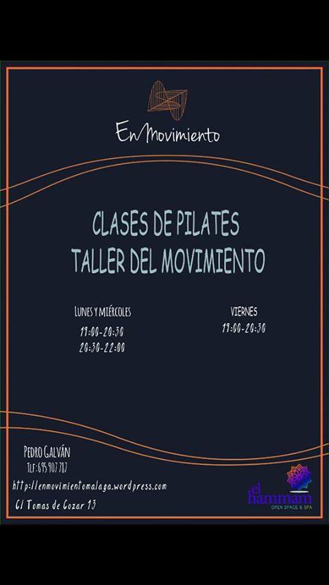 Clases de Pilates, Taller del movimiento